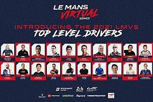 Motorsport Games y ACO anuncian los pilotos de la Le Mans Virtual Series 2021-22
