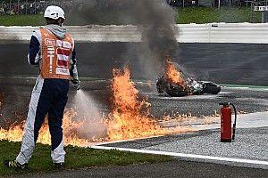 Fotogallery MotoGP: fuoco e fiamme al GP di Stiria
