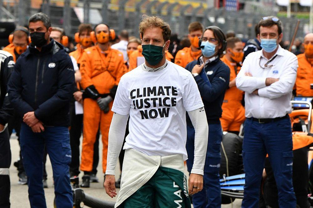 Vettel vreest voor toekomst F1 als sport niet groener wordt