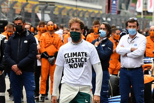 Vettel: Environmental interests must be credible, not for publicity