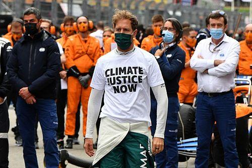 """Vettel, sobre el medioambiente: """"Está bien hablar, pero hay que actuar"""""""