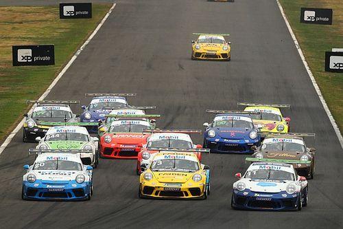 Veja como foram as corridas de domingo da Porsche Cup em Goiânia