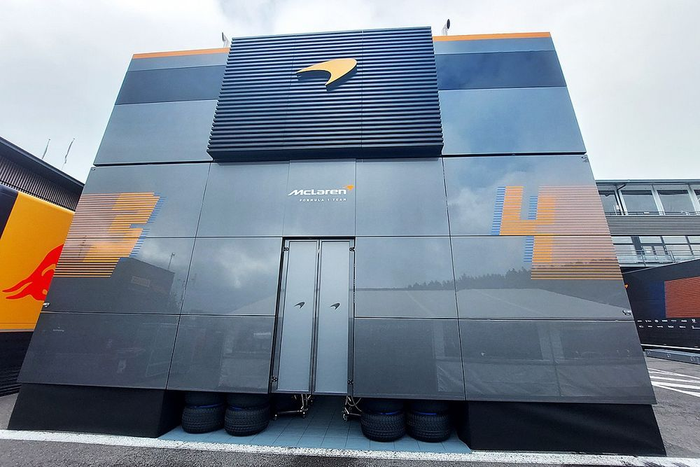 McLaren reveals innovative new F1 paddock Performance Centre