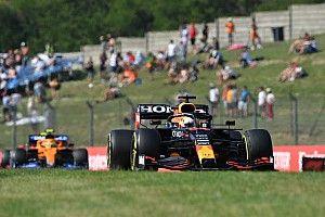 Q4 debate sobre o treino classificatório do GP da Hungria, com Verstappen vs Hamilton