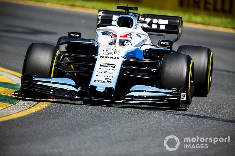 Williams no está tan mal como sugieren los tiempos, dice Russell