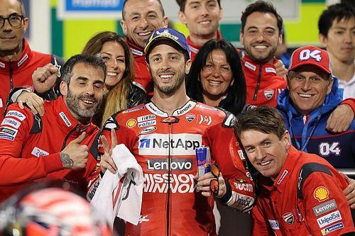 WK-stand na de MotoGP Grand Prix van Qatar