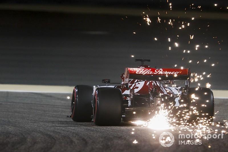 Fotogallery: l'Alfa Romeo Racing nel Gran Premio del Bahrein