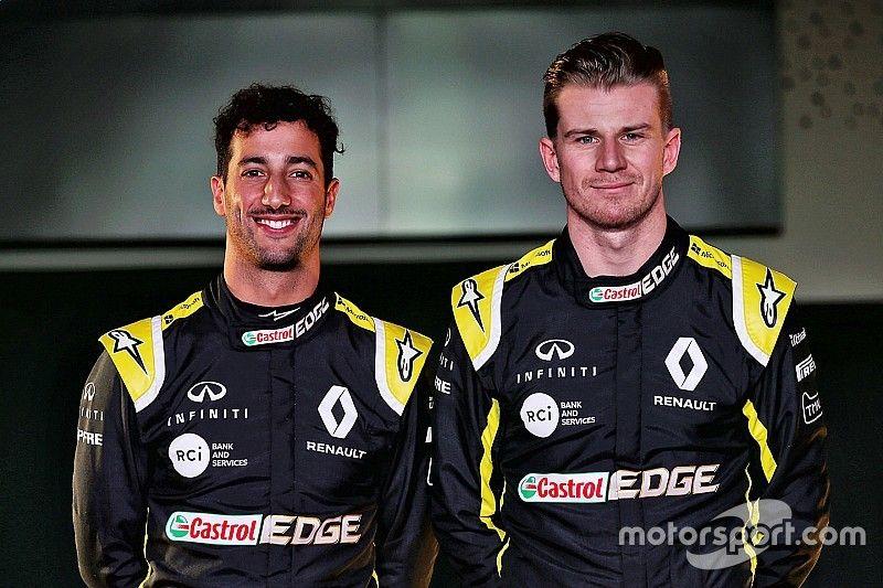 Los mismos deseos de Ricciardo y Hulkenberg ayudarán al desarrollo de Renault