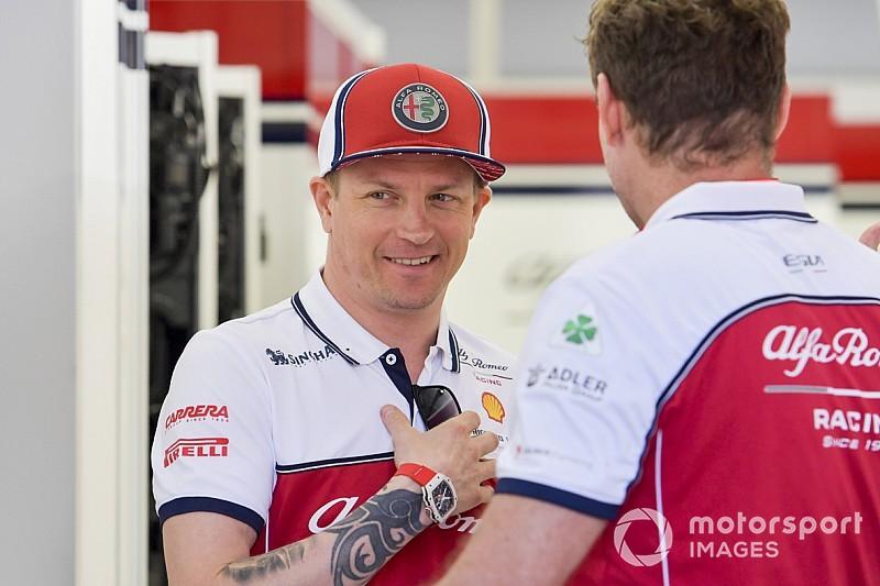 """La F1, """"un hobby plus qu'autre chose"""" pour Räikkönen"""