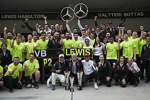 """Mercedes: """"Eddig mindent megnyertünk, pedig nem mindig miénk a legjobb autó"""""""