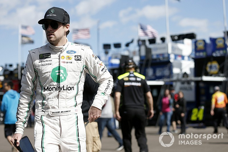 "To join Penske 'win club,' Blaney must ""clean some stuff up"""