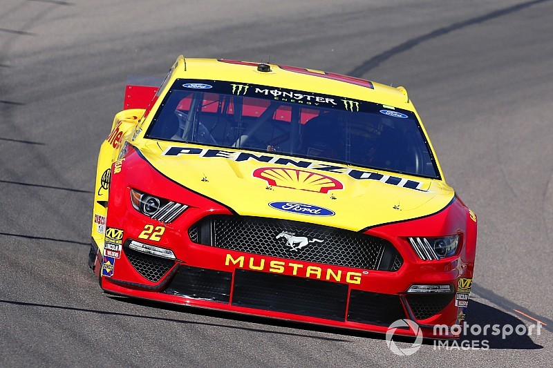 Joey Logano keeps Team Penske out front in final Cup practice