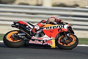 MotoGP Katar 2. antrenman: Marquez tur rekoruyla lider, Rossi 17.