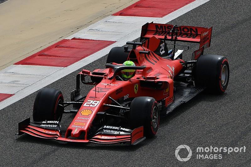 Képeken a bahreini teszt kedd délelőttje: Mick Schumacher, Alonso, Ricciardo...