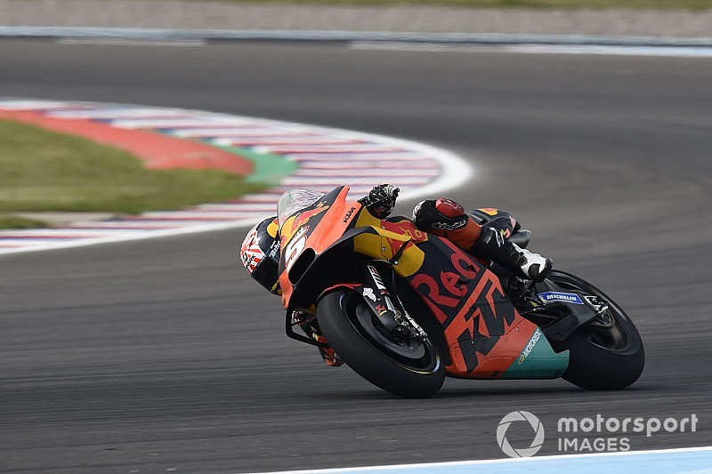 "Zarco ""exhausted"" after ""fighting bike"" in Argentina"