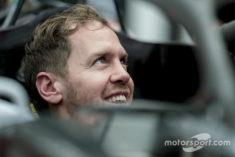 Vettel is elfoglalta a helyét az új Ferrariban