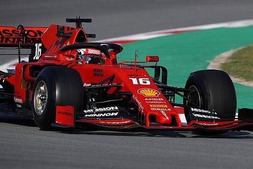 Леклер побил рекорд зимних тестов Ф1 по итогам первой половины четверга