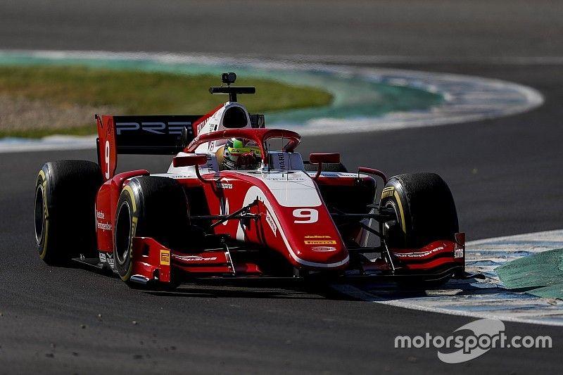 Schumacher cierra los test de Jerez de F2 como el más rápido