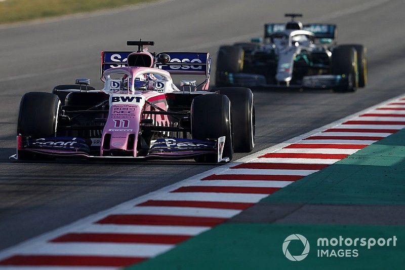 """Pérez destaca el """"trabajo increíble"""" de la F1 con las nuevas normas"""