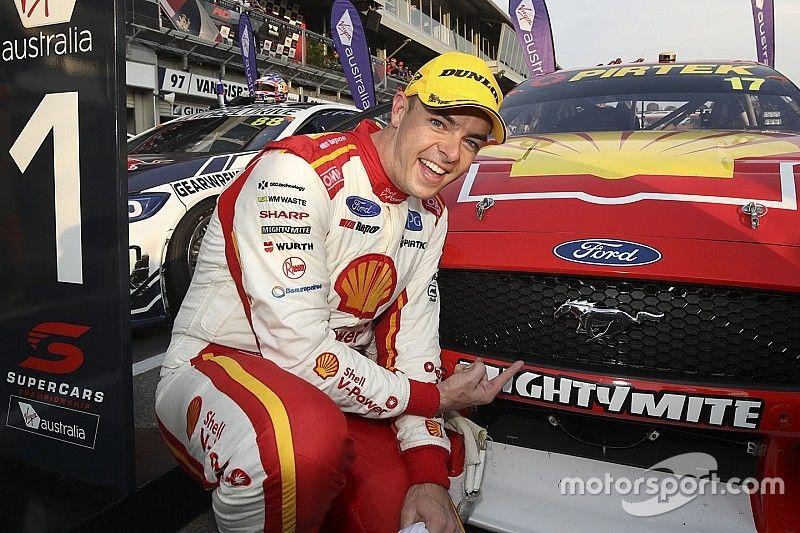McLaughlin teases NASCAR counterparts after debut Mustang win