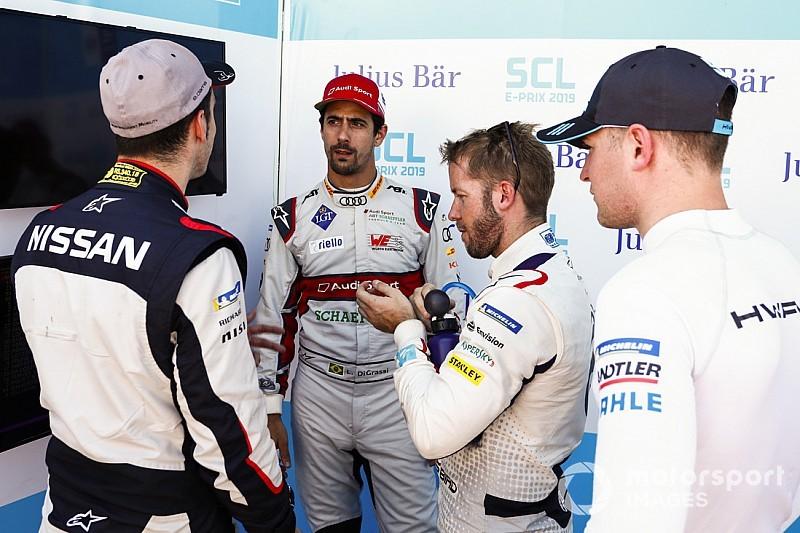 Santiago E-Prix: Di Grassi stripped of pole, starts last