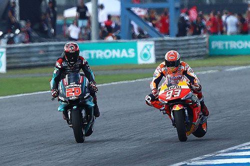 Márquez retransmite el GP de Tailandia donde se proclamó campeón