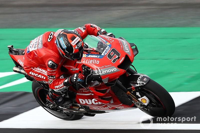 """Petrucci: """"Non capisco perché la Ducati cambi al pomeriggio"""""""