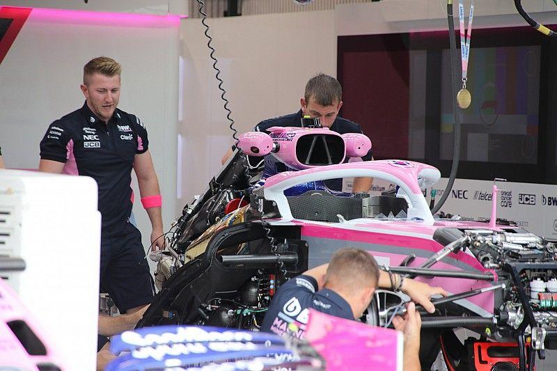 Racing Point homologa su chasis para 2020