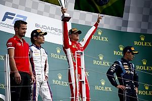 Primera y fenomenal victoria de Mick Schumacher en la Fórmula 2
