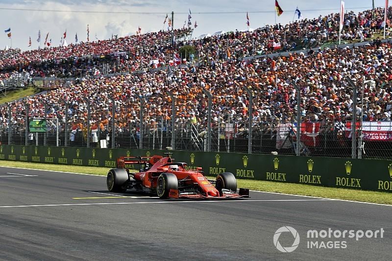 Vettel olvadó gumikat akar vasárnap a Magyar Nagydíjon