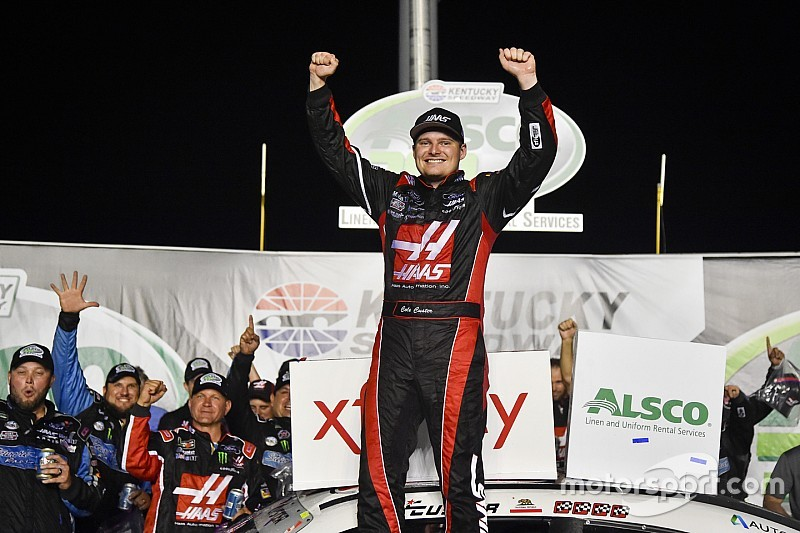 Cole Custer cruises to Kentucky Xfinity win over Bell