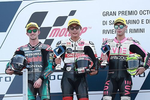 Misano Moto3: Suzuki takes maiden win, drama for Canet