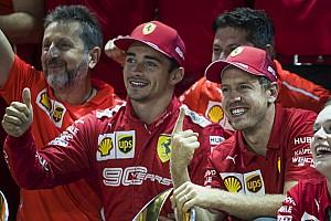 Ferrari overwoog positiewisseling Vettel en Leclerc