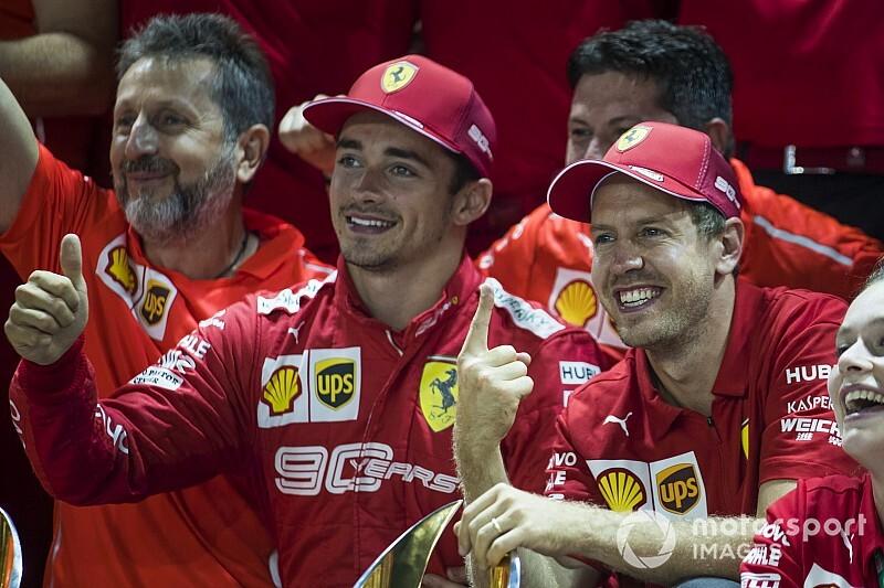 Леклер попросил Ferrari объяснить ему тактику Феттеля