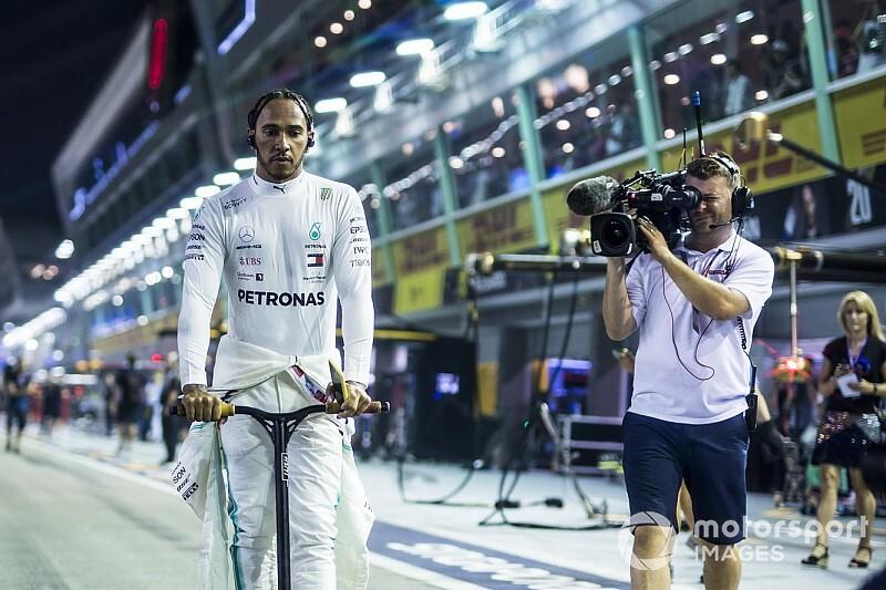 Hamilton már előre ellenezte a Mercedes stratégiáját