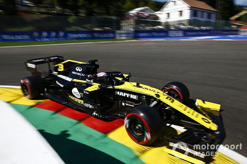 Ricciardo: Spa a boost for Renault despite no points