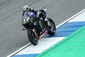 MotoGPタイFP1:ビニャーレス首位。マルケス大クラッシュでメディカルセンターへ