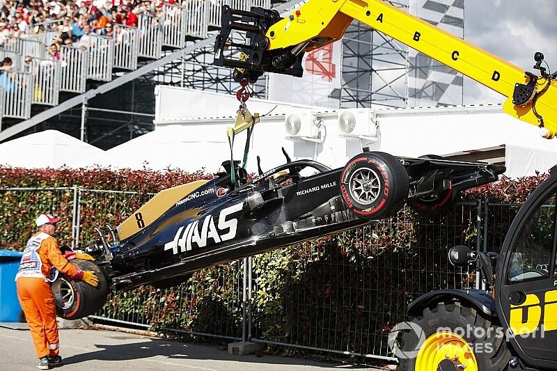 Szafnauer zażartował z Grosjeana
