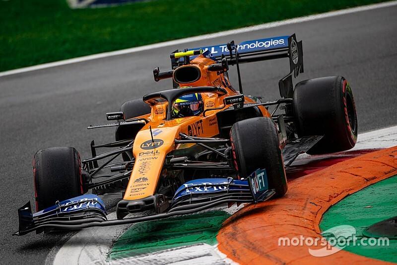 McLaren MCL35'in arka tarafı, 2019'a kıyasla daha dar olabilir