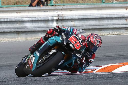 Test MotoGP Brno: novità nel box Yamaha, Quartararo primo alle 12