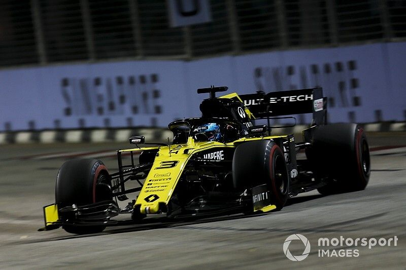 MGU-K issue gave Ricciardo 0.000001s advantage