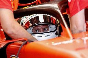 Ferrari: Vettel parte dalla pit lane con il bagnato
