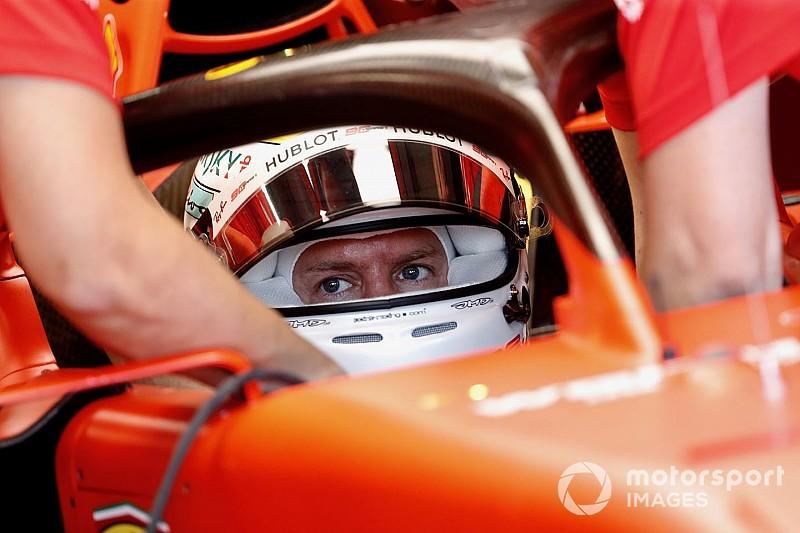Феттель подготовил для Гран При Италии шлем в стиле ретро