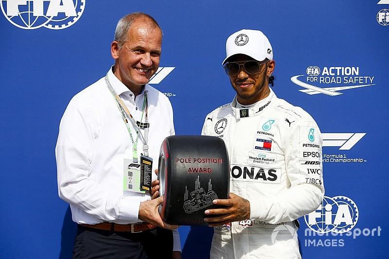 PLACAR F1: 'Na sorte', Hamilton amplia vantagem sobre Bottas