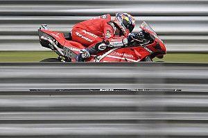 Thailand MotoGP: Dovizioso tops shortened FP3