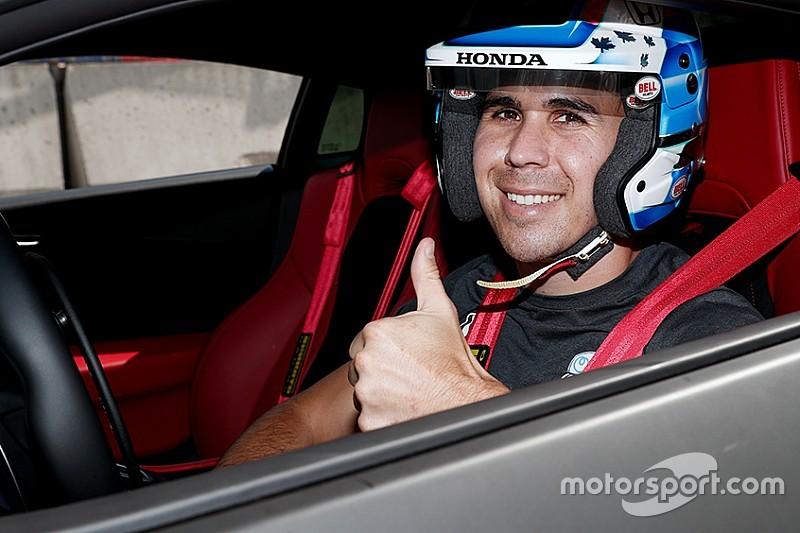 VÍDEO: Robert Wickens pilota carro esportivo pela primeira vez após acidente