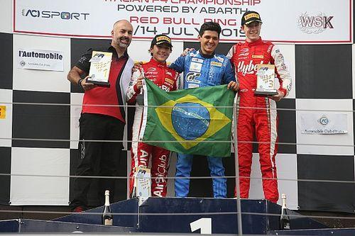 F3 Regional: Fraga e Fittipaldi fazem dobradinha brasileira na Áustria