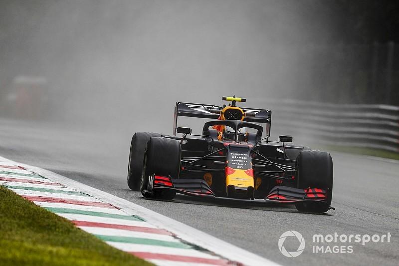 F1イタリアFP1速報:ルクレールトップタイム。レッドブル・ホンダのアルボン5番手