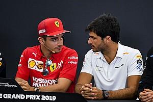 """Leclerc: """"Sainz gaat het me echt niet makkelijk maken"""""""