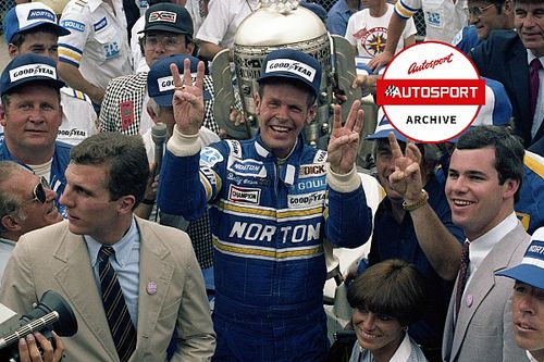 From the archive: The confusing aftermath of Unser's 1981 Indy win